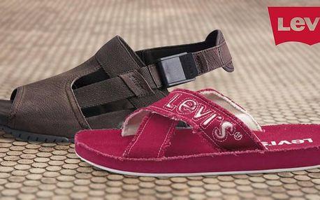 Pánské letní boty Levi's: pantofle i sandály