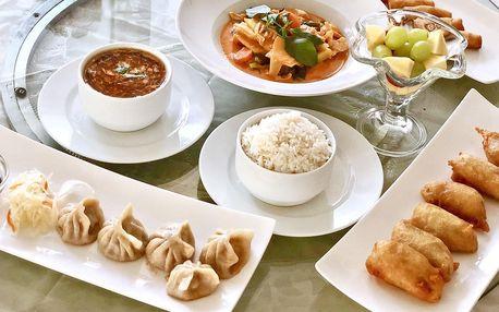 4chodové thajské menu dle výběru až pro 4 osoby