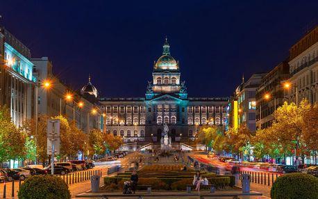 4 * hotel se snídaní v Praze za super cenu