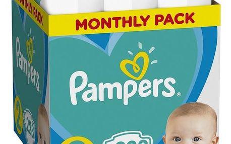 PAMPERS New Baby-Dry 2 (4-8 kg) 228 ks MĚSÍČNÍ ZÁSOBA – jednorázové pleny