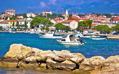 Pobyt na chorvatském ostrově Pag s polopenzí