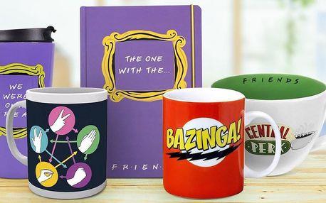 Dárky pro fanoušky Přátel a Big Bang Theory