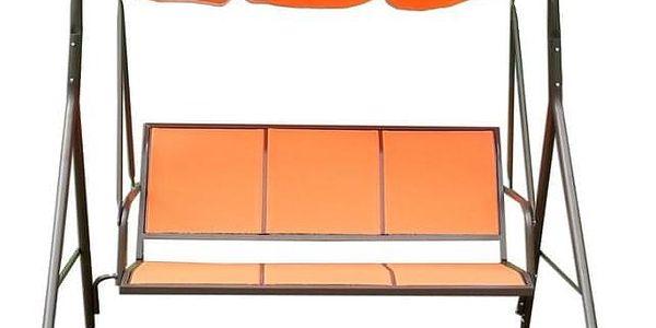 Tradgard COMFORT 6545 Zahradní houpačka oranžová