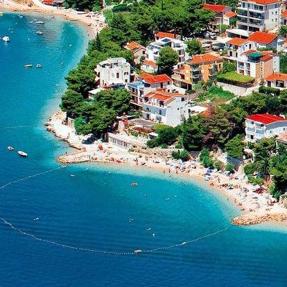 Chorvatsko, Střední Dalmácie, vlastní dopravou na 8 dní bez stravy