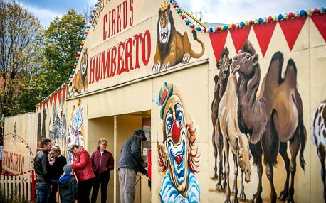 Nejslavnější Cirkus Humberto přijíždí do Telče