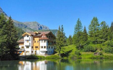 Italské Dolomity v Hotelu Miralago *** na břehu jezera s polopenzí