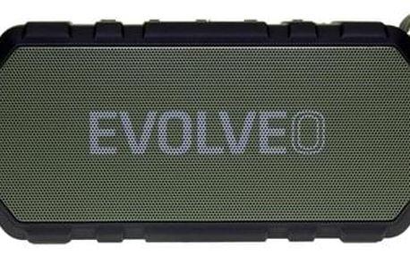 Přenosný reproduktor Evolveo Armor FX6 zelené (ARM-FX6-GEE)