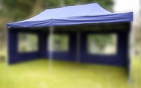 Garthen 2670 Náhradní střecha k party stanu 3 x 6 m, modrá