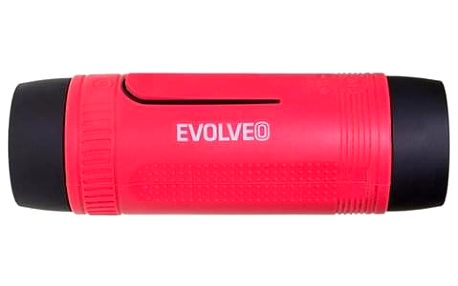 Přenosný reproduktor Evolveo Armor XL3 černé/červené (ARM-XL3-RED)