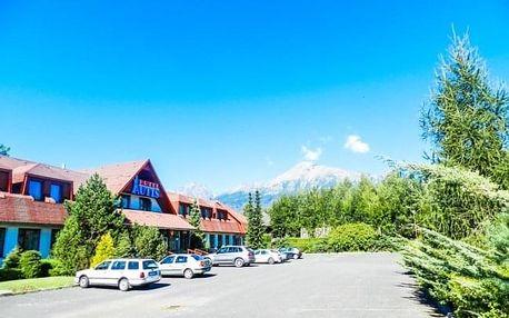 Vysoké Tatry v Hotelu Autis *** s polopenzí, saunou, fitness + 2 děti zdarma