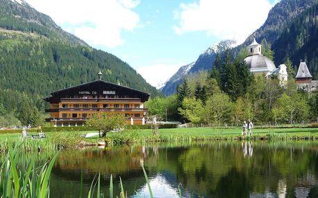 Rakousko v létě i zimě z hotelu HAAS***