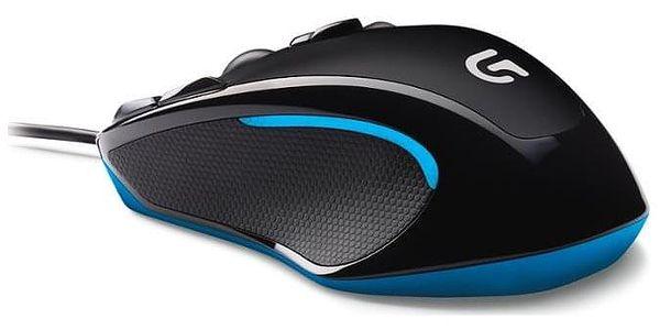 Myš Logitech Gaming G300s černá / laserová / 8 tlačítek / 2500dpi (910-004345)3