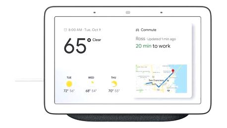 Google Home Hub Charcoal šedý