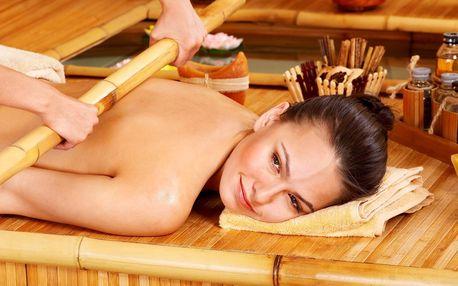 Slastný relax: výběr z 6 různých masáží