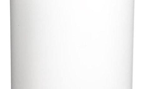 INSTANT D'O Koupelnový koš, odpadkový koš, koš s bambusovým krytem - barva bílá, 3 l