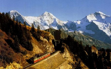 Švýcarsko - Bernské Alpy, Berner Oberland