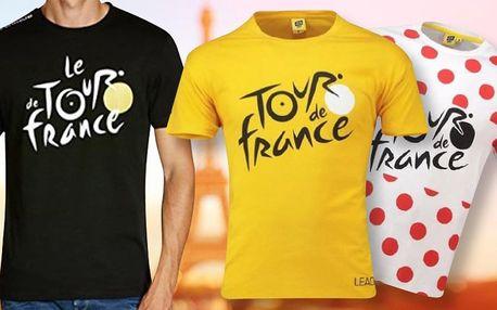 Oficiální pánská a dámská trička Tour de France