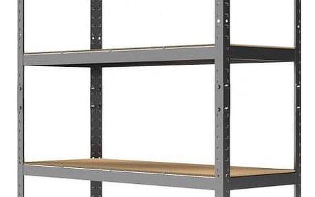 Kovový regál Primo II. 180x90x30 cm - 5 polic