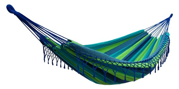 Houpací síť DUVLAN s krajkou 220 x 130 cm Barva: HA105