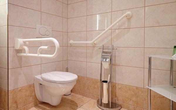 Jednolůžkový pokoj se společnou koupelnou a toaletou2