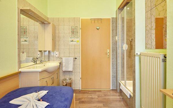 Jednolůžkový pokoj se společnou koupelnou a toaletou4