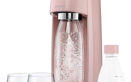 Výrobník sodové vody SodaStream Spirit Růžový
