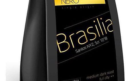 Káva zrnková Nero Caffé Brazílie Santos, 250 g (407718)