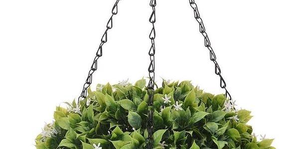Koopman Umělá květina v závěsném květináči Blaire, 20 cm