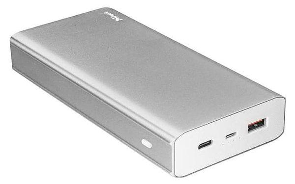 Powerbank Trust Omni Plus 20000mAh, USB-C, QC 3.0 stříbrná (22790)2