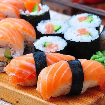 24–42 ks sushi vč. vegetariánského setu