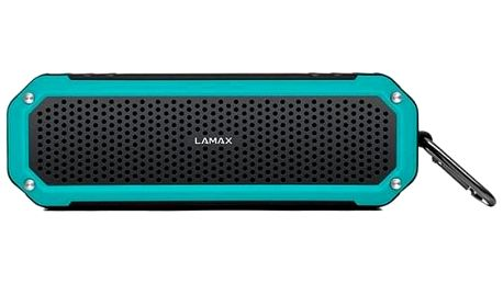Přenosný reproduktor LAMAX Beat Sentinel SE-1 černý/tyrkysový + dárky Vak na záda Lamax - dárek