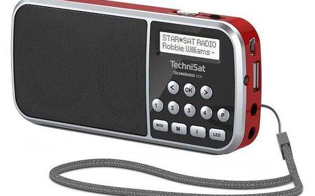 Technisat TECHNIRADIO RDR červený