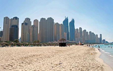 Spojené arabské emiráty - Dubai na 4 dny, bez stravy s dopravou letecky z Prahy