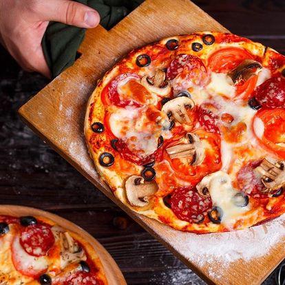 Italská klasika: 1 až 4 pizzy o průměru 32 cm