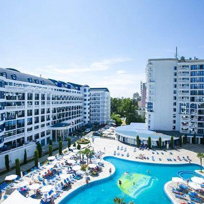 Bulharsko - Slunečné Pobřeží na 8 dní, polopenze nebo snídaně s dopravou letecky z Prahy nebo Brna