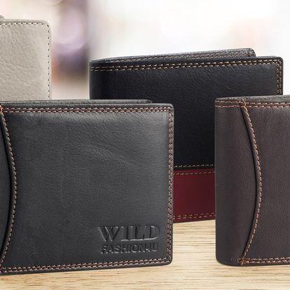 Pánské peněženky Wild z pravé kůže