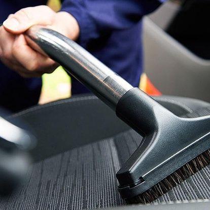 Antibakteriální tepování interiéru a kufru auta