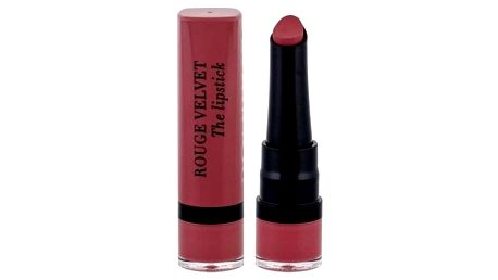 BOURJOIS Paris Rouge Velvet The Lipstick 2,4 g matná rtěnka pro ženy 13 Nohalicious