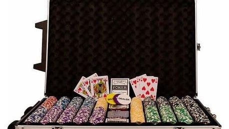 Garthen OCEAN Trolley CHAMPION CHIP 496 Poker set 1000 ks žetonů
