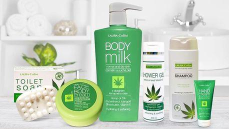 Konopná kosmetika: krémy, mýdla, gel i šampon