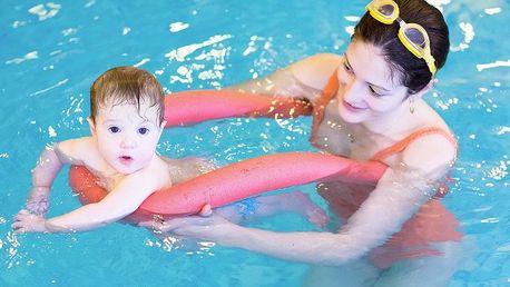 Plavání rodičů s dětmi ve slané vodě (12 lekcí)