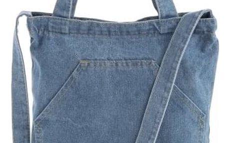 Světle modrá denimová taška Hipster 32613