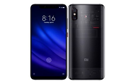 Mobilní telefon Xiaomi Mi 8 Pro Transparent Titanium (20898)