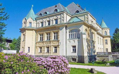 Krkonoše na Kramářově zámku s polopenzí a privátní saunou – platnost do prosince 2019