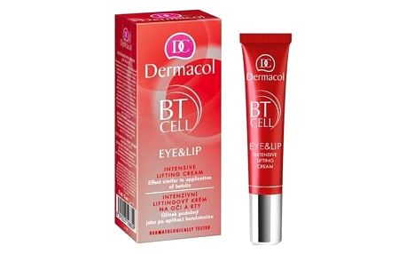 Dermacol BT Cell Eye&Lip Intensive Lifting Cream 15 ml liftingový krém na oči a rty pro ženy