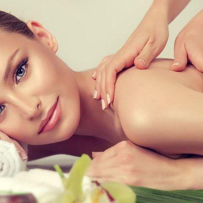 Aroma masáž a masáž nohou s chladivým zábalem