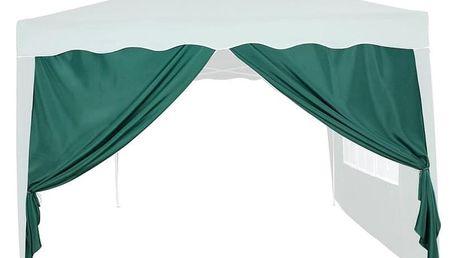Tuin 36850 Náhradní boční stěna ke stanu se zipem - zelená