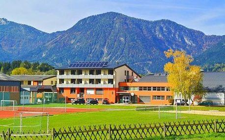 Rakousko aktivně ve Sportsarea Grimming *** s polopenzí + wellness, tenis, kola