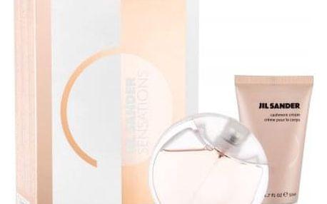Jil Sander Sensations dárková kazeta pro ženy Edt 40ml + 50ml tělový krém