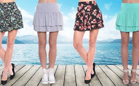 Pohodlné sukně: 3 varianty a mnoho barev
